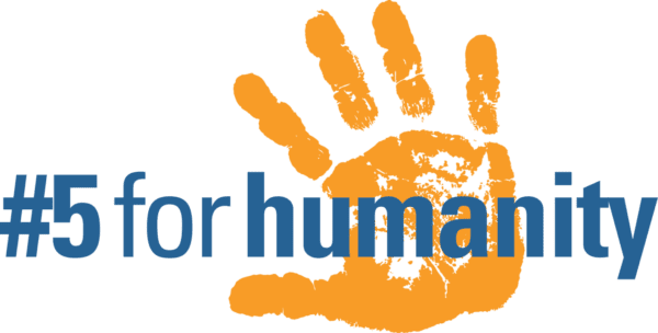 #5 for humanity logo