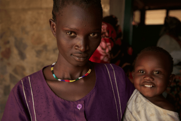 mother and child in Sudan
