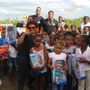 group at toy drive