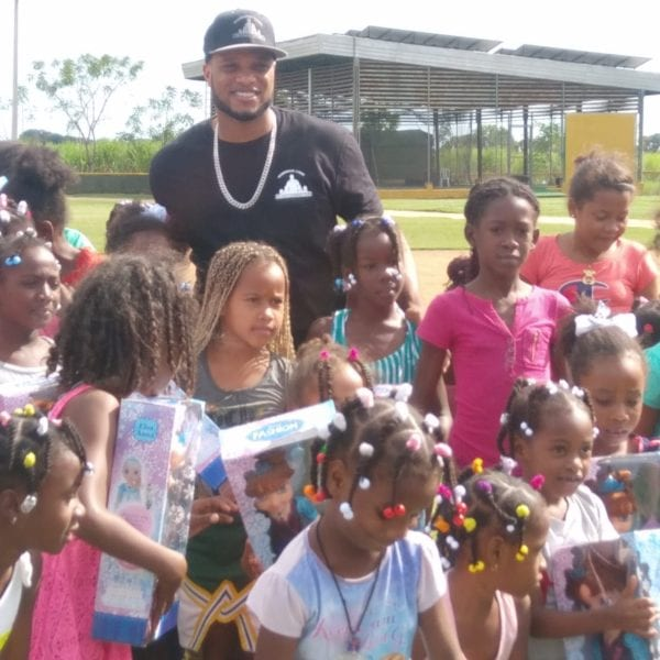 kids at toy drive